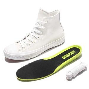 🔥NWT Converse Chuck II 2 Leather Buff Shoes